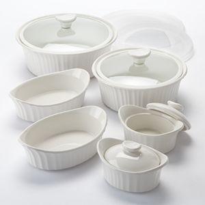 CorningWare French White 12-pc. Bakeware Set