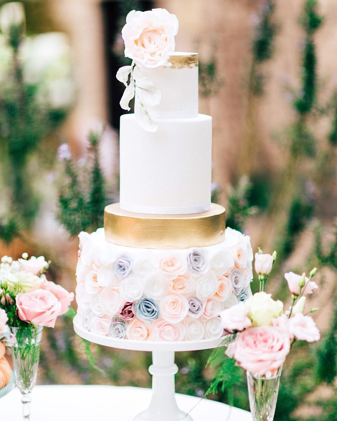 As featured in you u your wedding we love the intricate rose iced