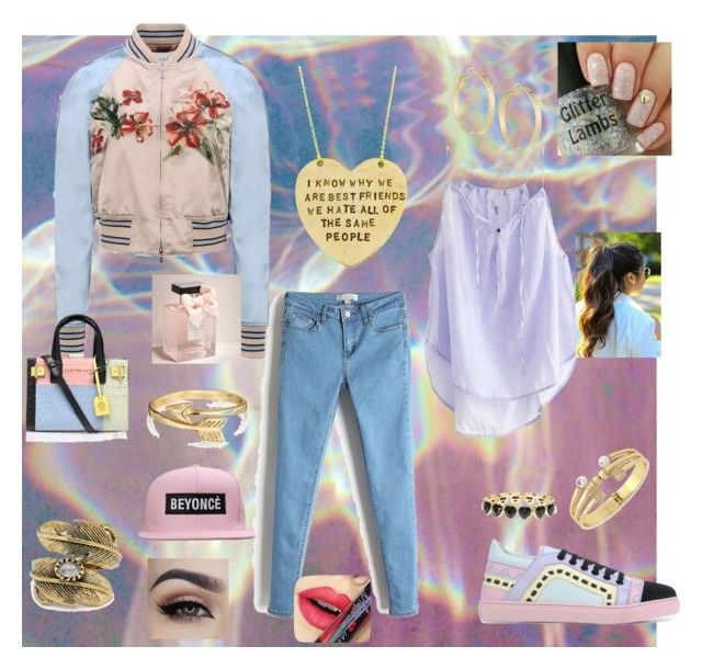 """""""Be(To the) Yon (To the) Ce, EHHHHH!!!!!!"""" by devonmikaelsaonbitch ❤ liked on Polyvore featuring Humanoid, Sophia Webster, Valentino, Alisa Michelle, Natalie B, Bling Jewelry, claire's, BCBGeneration, Panacea and Abercrombie & Fitch"""