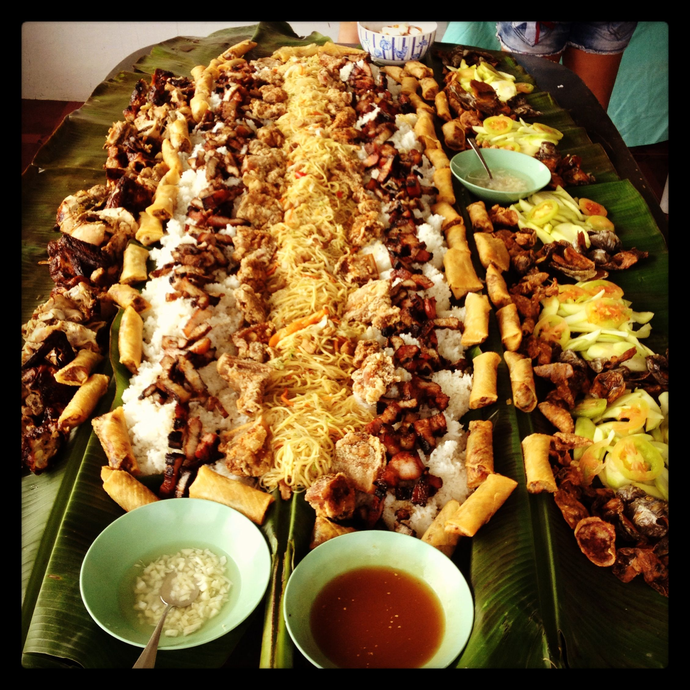 Food, Boodle Fight