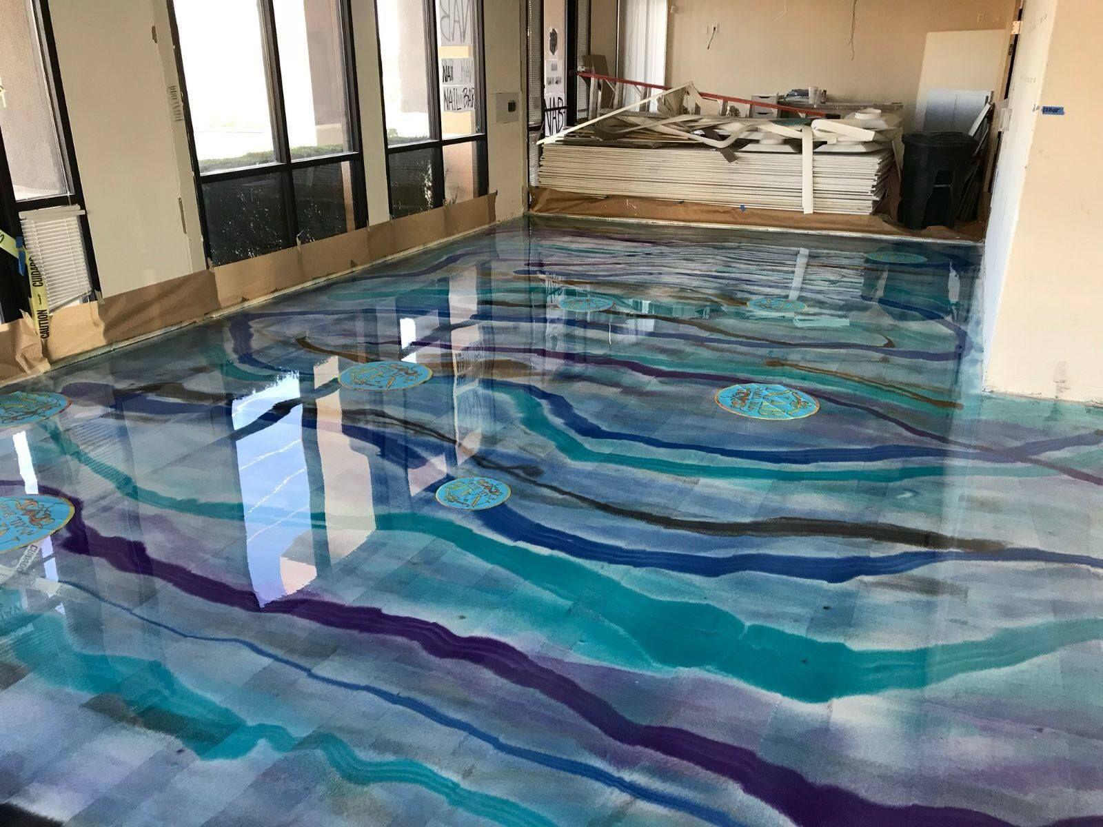 Decorative Epoxy Flooring by Hudson Valley Epoxy Flooring. Calling