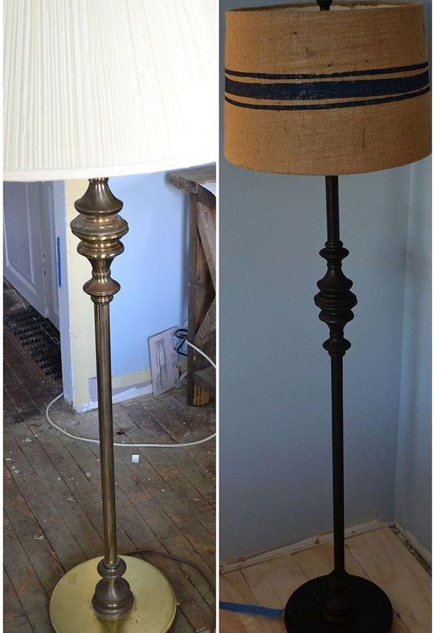 Vintage Floor Lamp Makeover Vintage Floor Lamp Floor Lamp