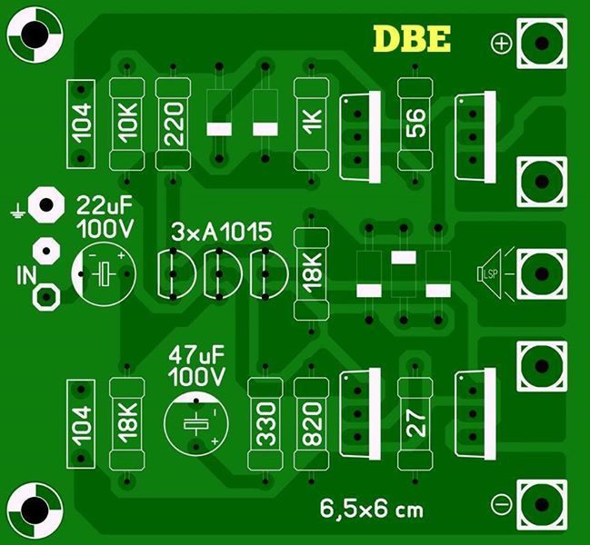 Audio Power Amplifier Circuit Diagram With Pcb Layout - Somurich com