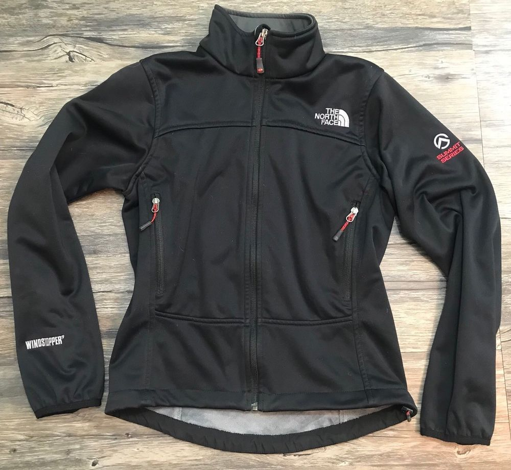 Summit The Windstopper North Face Small Jacket Series Black L4RjA5