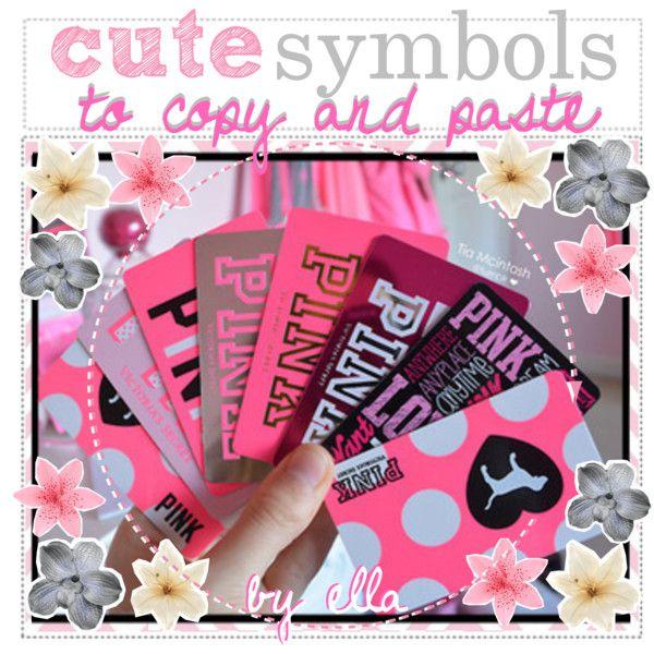 cute symbols to copy and paste   Symbols, Cute, PastSymbols To Copy And Paste Cute