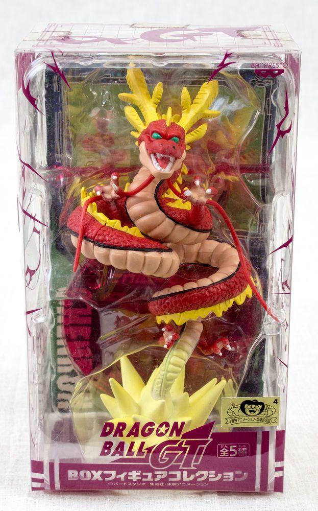 RARE! Dragon Ball Z GT Red Shenron Box Figure Collection Banpresto JAPAN ANIME