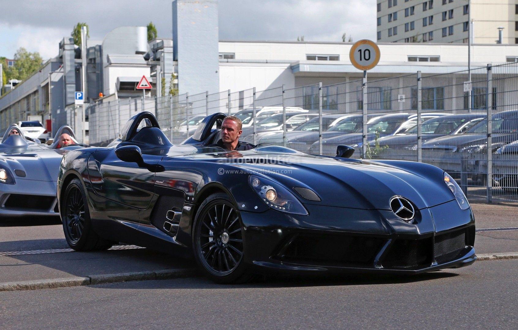 Black Mercedes Benz Slr Stirling Moss Black Mercedes Benz