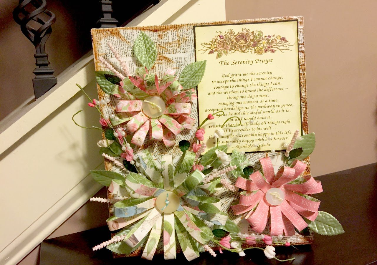 Upcycled Box to Mixed Media Floral Wall Art | Tutorials for Mini ...