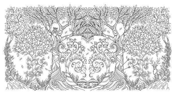 mein zauberwald  knesebeck verlag  secret garden