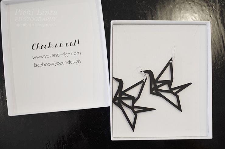 My new earrings from YoZen