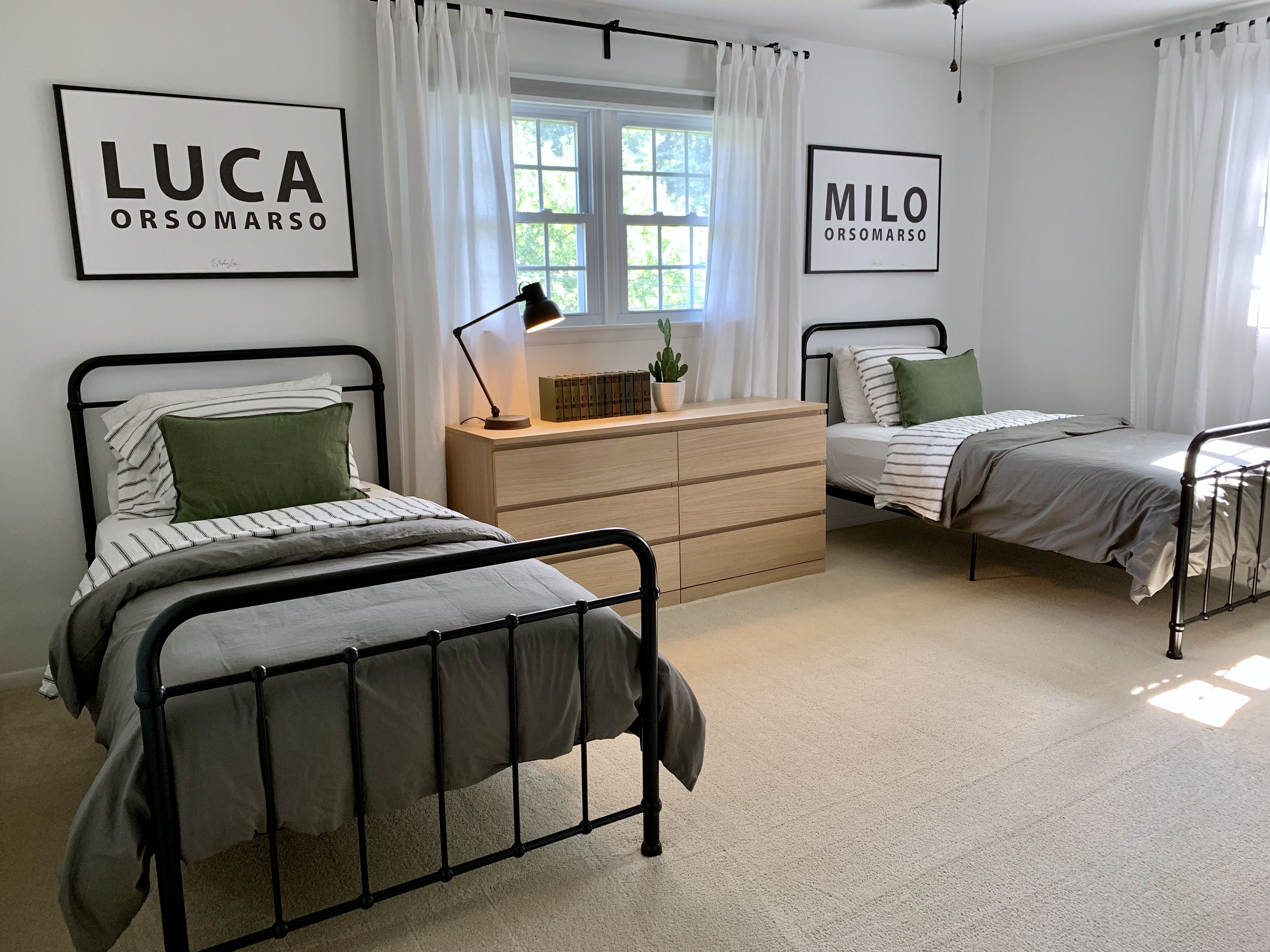Boys Bedroom Twin Iron Beds Ikea Malm Dresser Boys Shared Bedroom Twin Boys Bedroom Big Boy Bedrooms