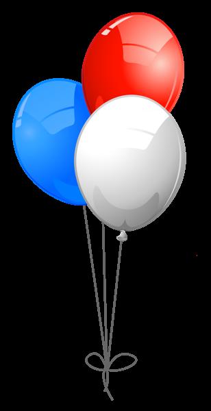 Usa Colors Balloons Png Clipart Balloon Clipart Balloons Clip Art