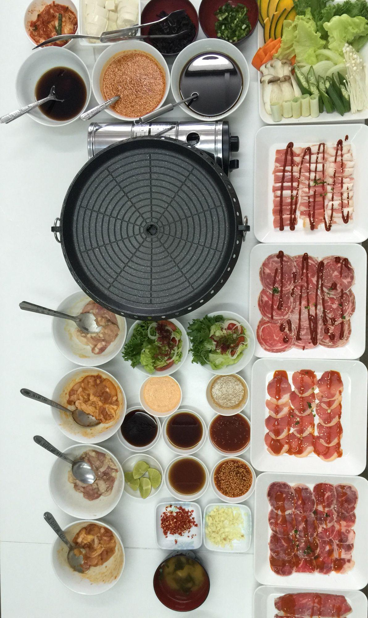 Yakiniku Set Asian Recipes Korean Bbq At Home