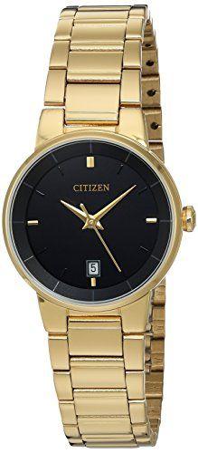 1ef7a6c539e Citizen EU601258E Quartz Gold Tone Stainless Steel Watch Case -- Read more  reviews of the. Relógios FemininosRelógios ...