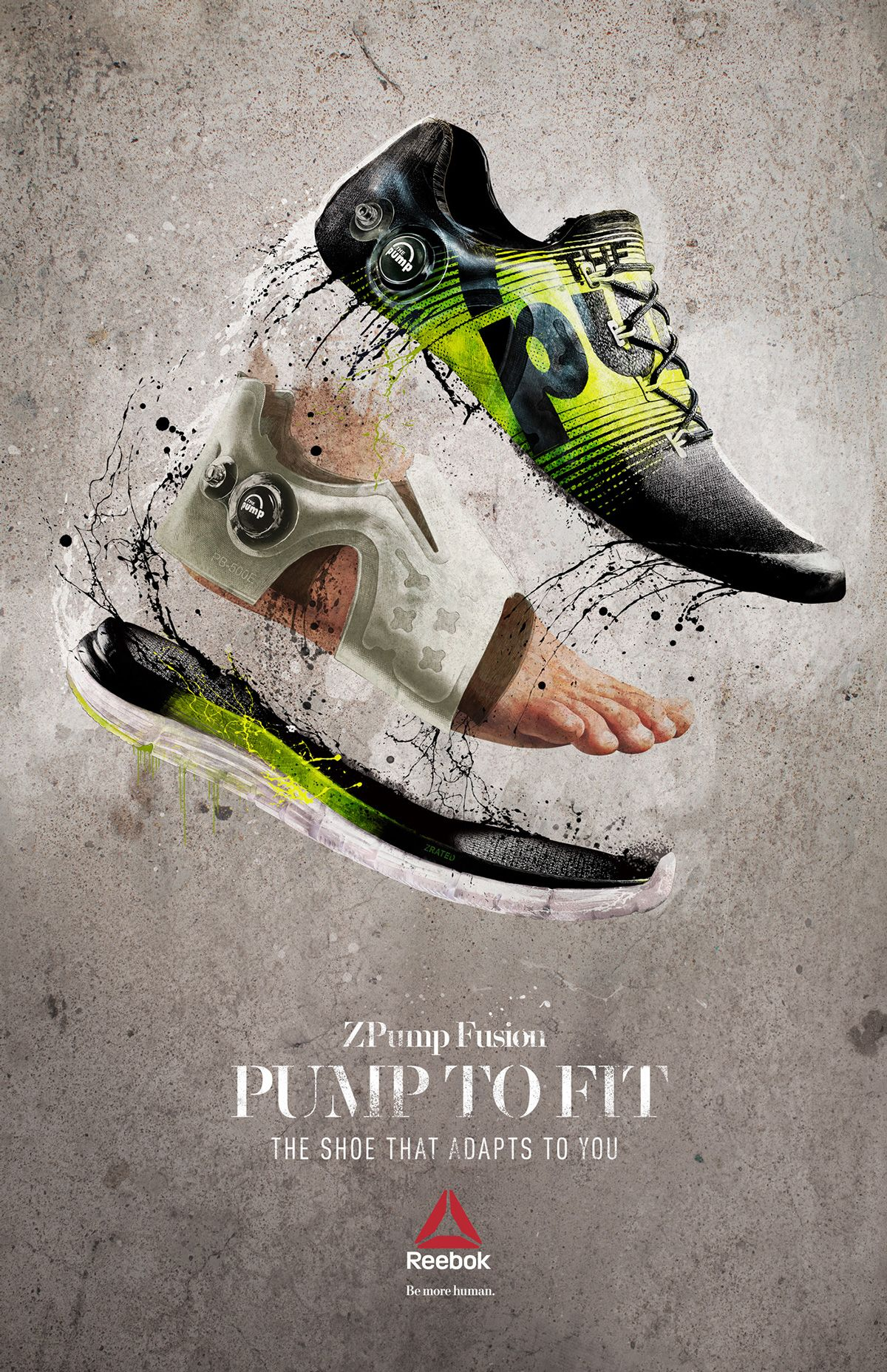 Reebok ZPump Fusion on Behance by Shotopop