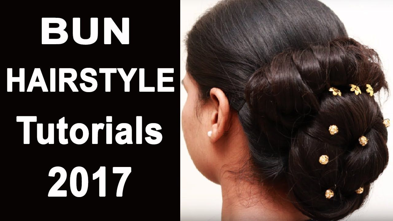 Easy HAIRSTYLES For Long Hair Bun Hairstyle Videos Hair - Hairstyle bun videos
