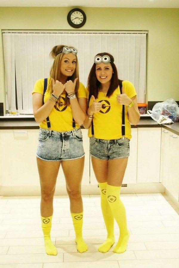 Minions Best friend costumes! Halloween Pinterest Friend - halloween costume ideas for friends