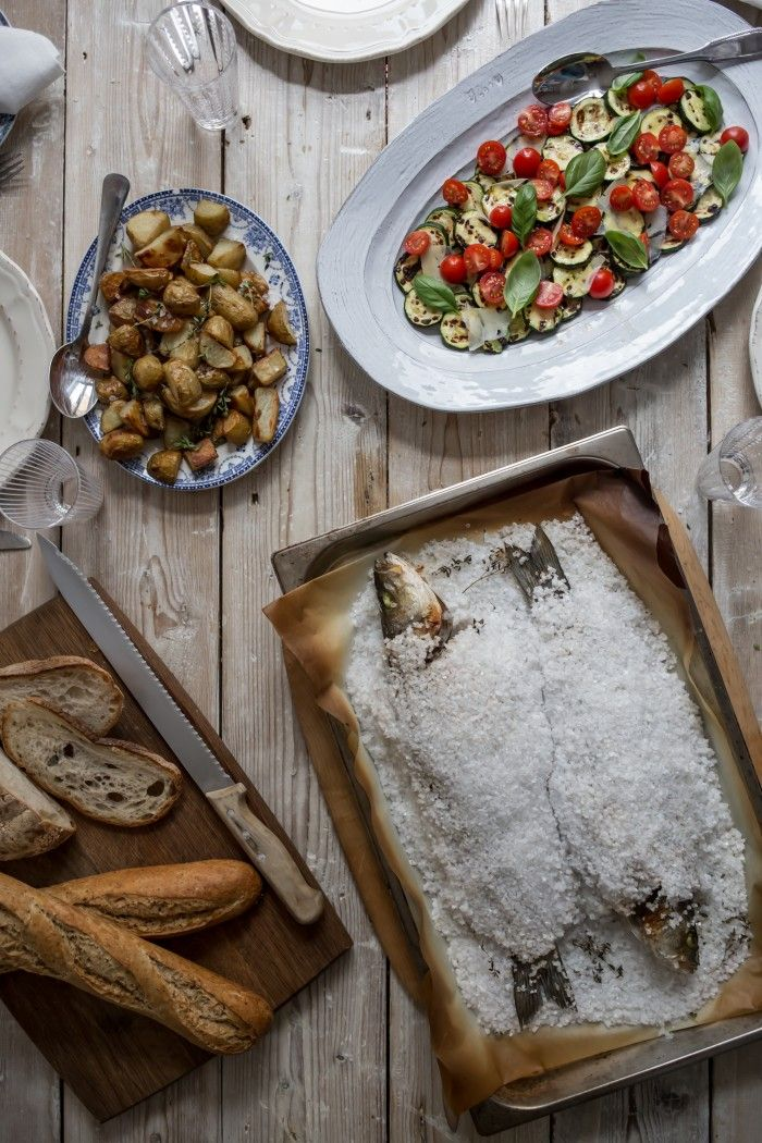 The feast of holy redeemer a recipe for sea bass al