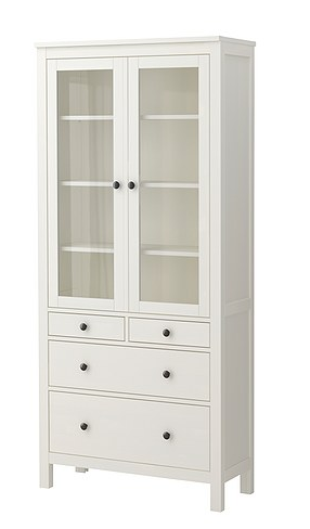 ikea dining room hutch   Ikea Hemnes / Dining Room Storage/ Hutch... The style is ...