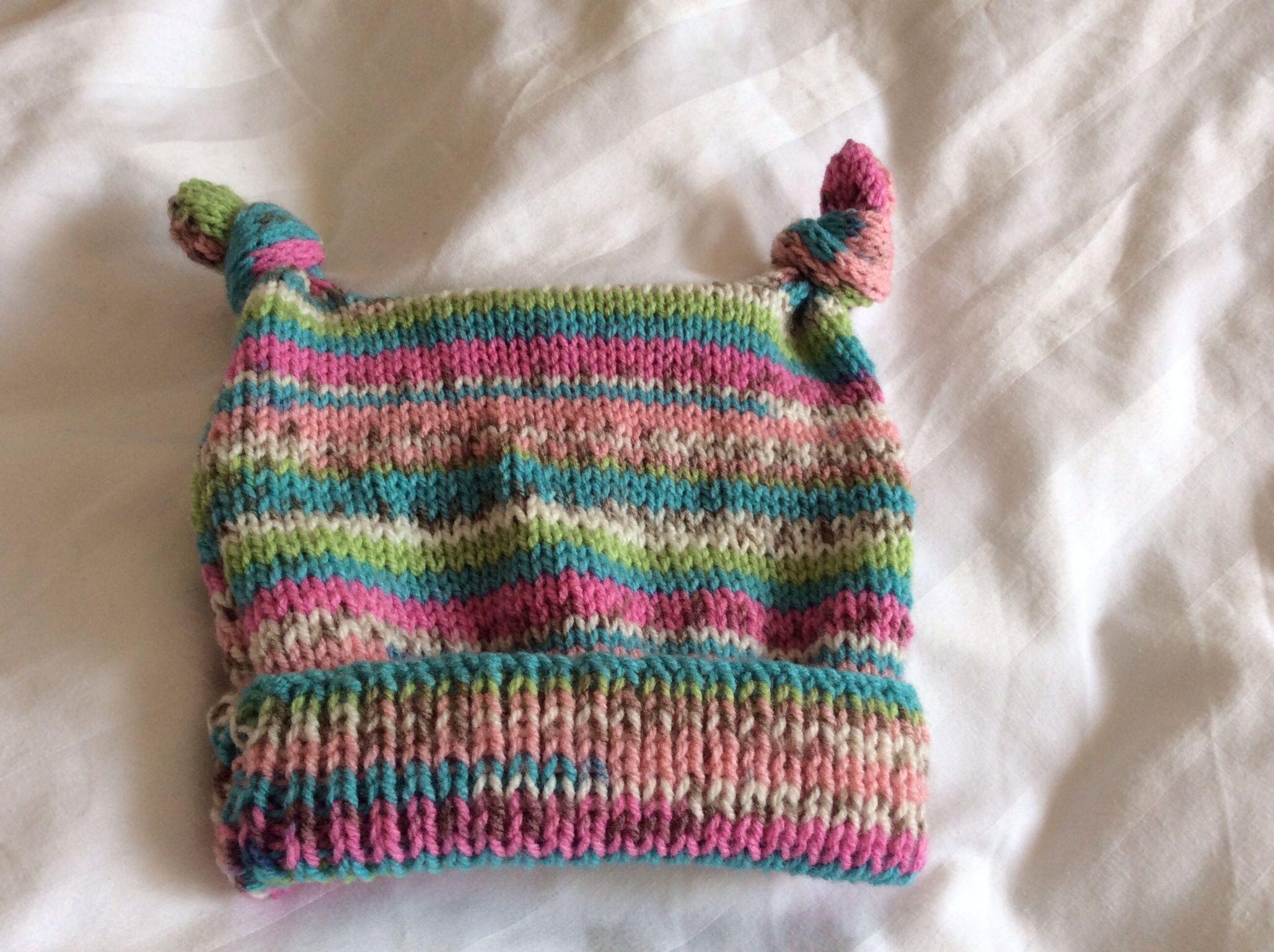 Tea bag baby hat. | Needles and hooks in 2018 | Pinterest | Baby ...
