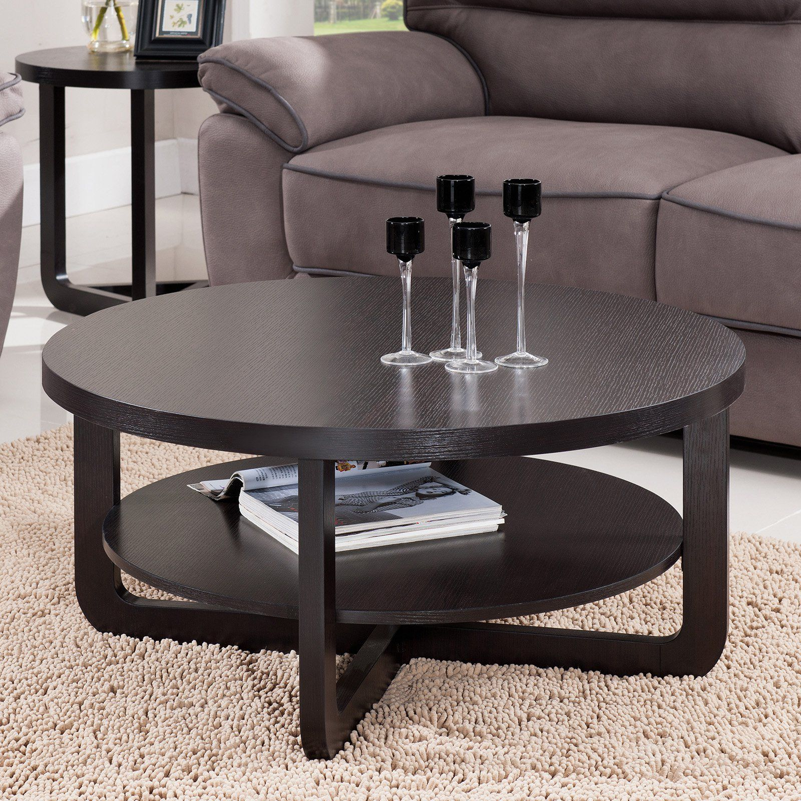 Furniture Of America Tiered Round Coffee Table Www Hayneedle Com Coffee Table Furniture Of America Furniture [ 1600 x 1600 Pixel ]