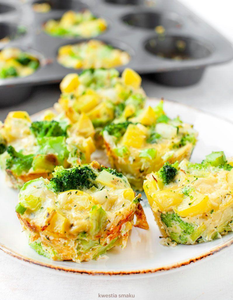 Medaliony Warzywne Kwestia Smaku Healthy Breakfast Food Healthy Recipes