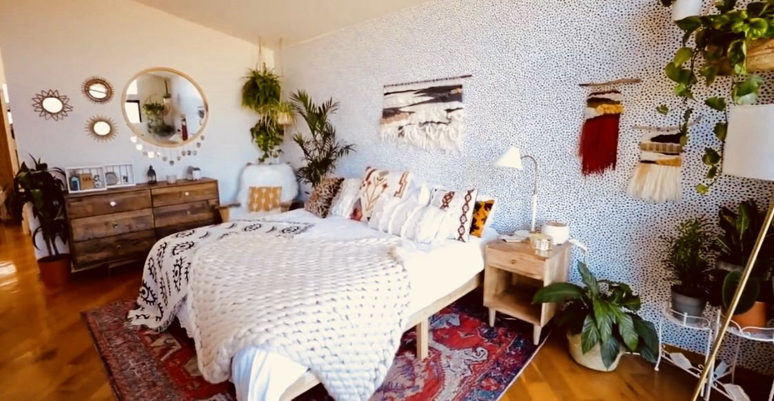 Boho Vibes!! | Mia Stammer new bedroom! | h o m e in 2019 ...