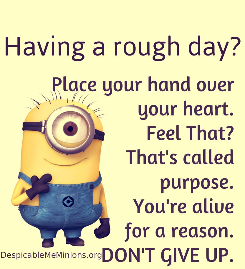 Having A Rough Day? Place You Hand Over Your Heart. Feel