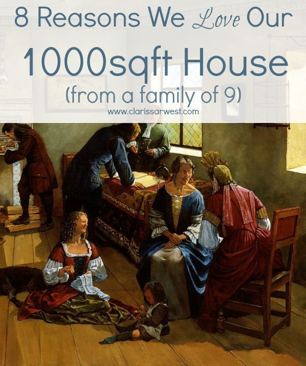 8 Reasons We Love Our 1000sqft House Large Family Organization Small House Living Large Families Living