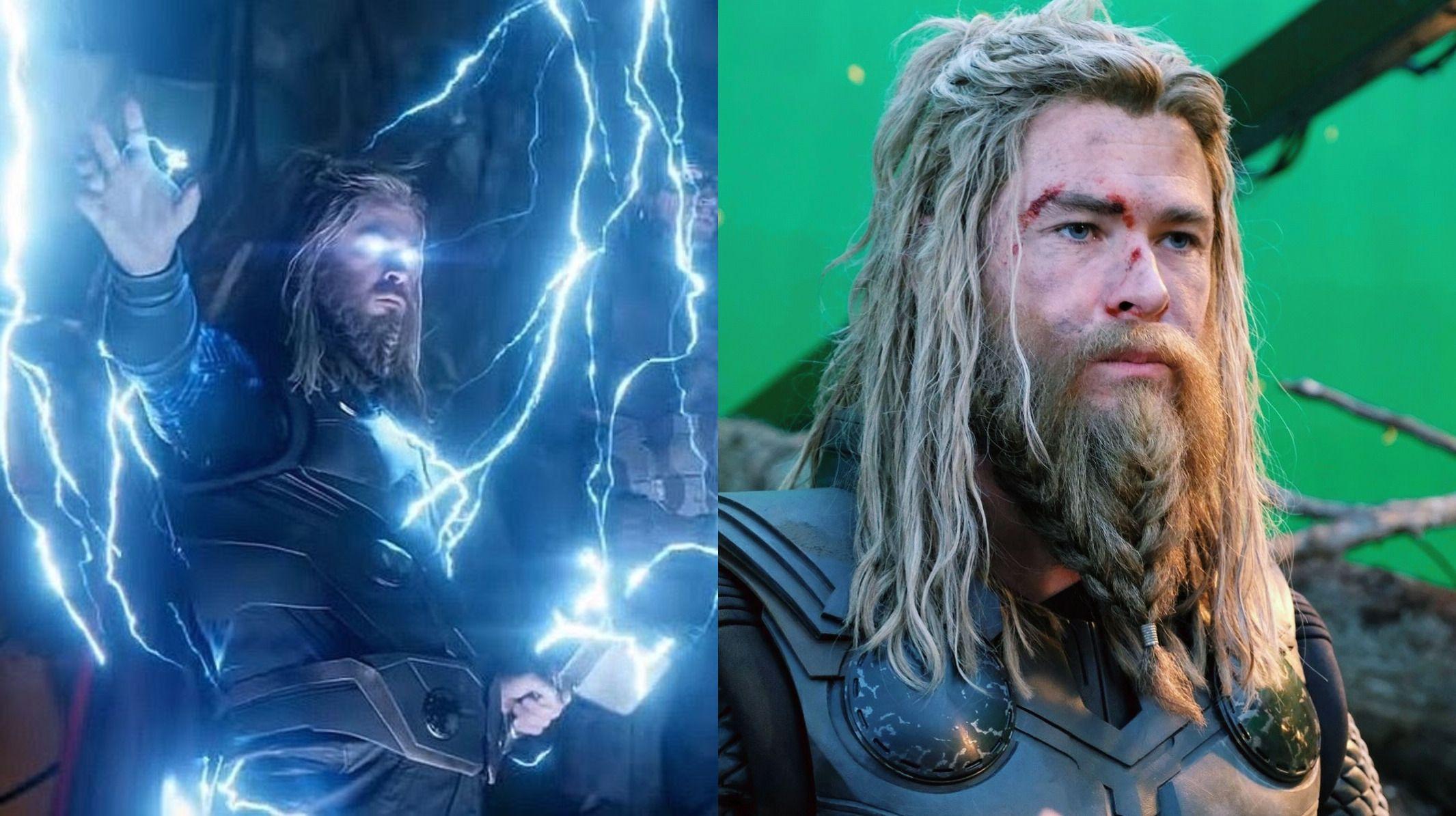 Chris Hemsworth Aka Thor In Avengers Endgame Looking Like A