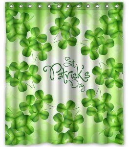 Unique Custom Happy St Patrick S Day Waterproof Fabric Polyester