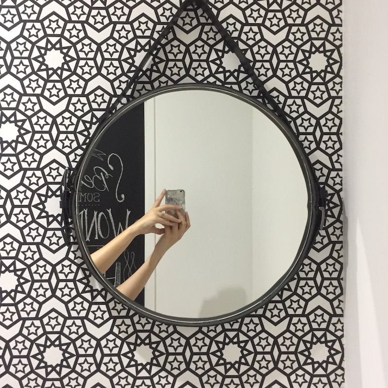 diy miroir rond suspendu captain 39 s mirror bricolage miroir suspendu miroir et suspendu. Black Bedroom Furniture Sets. Home Design Ideas