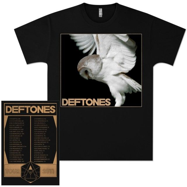 Deftones Diamond Eyes Album Covers Tour T Shirts T Shirt