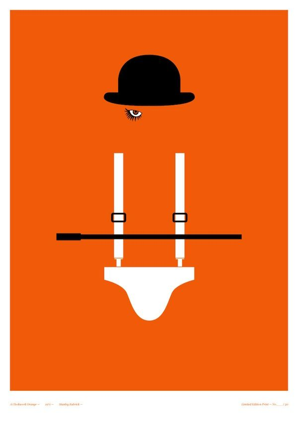 Clever Posters of Classic Horror Films