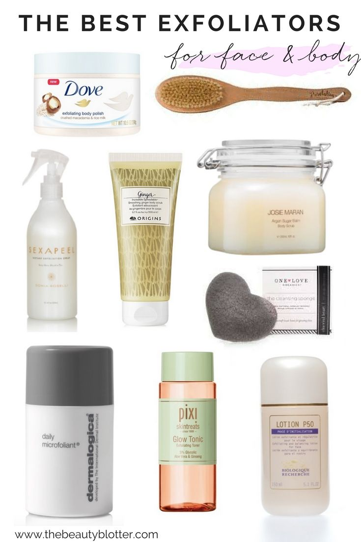 The Best Exfoliators For Face Body Good Exfoliators For Face
