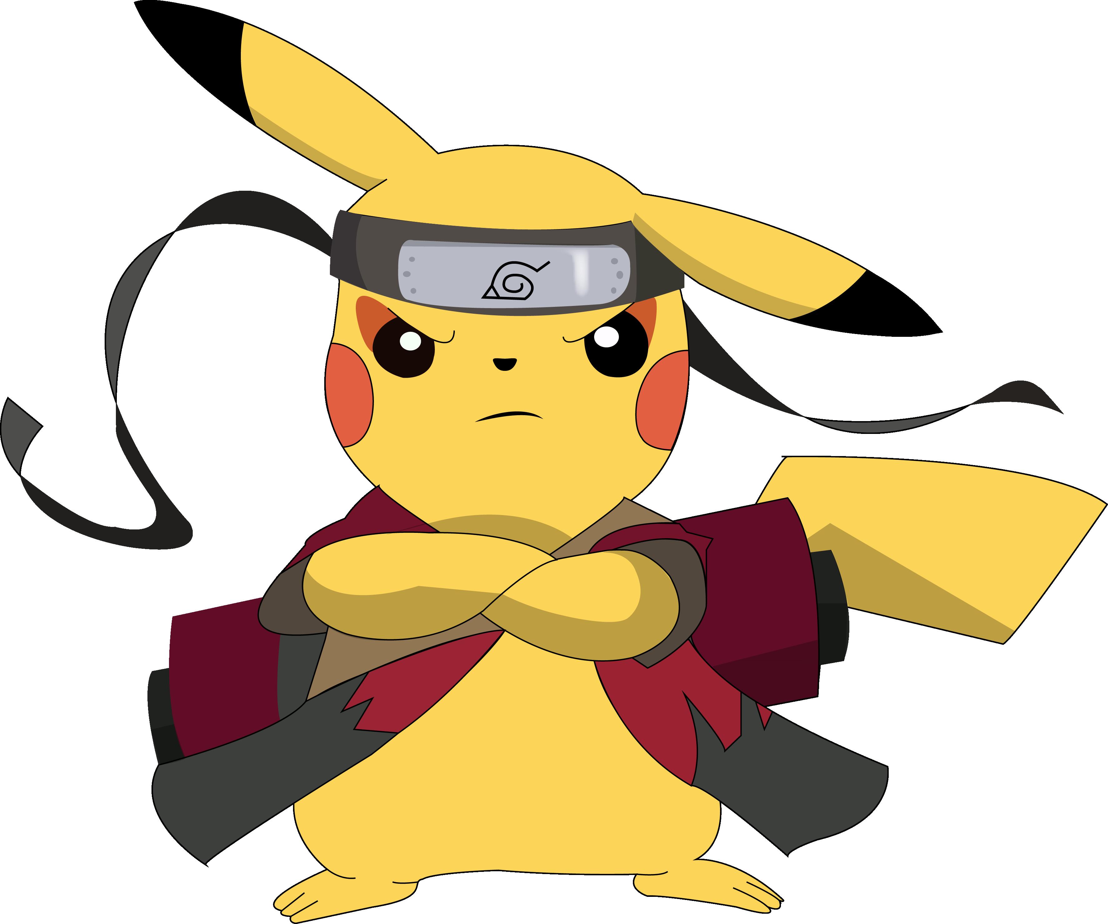 Pikachu sennin by edumander on deviantart dope pikachu naruto naruto merchandise - Dessin de pikachu ...