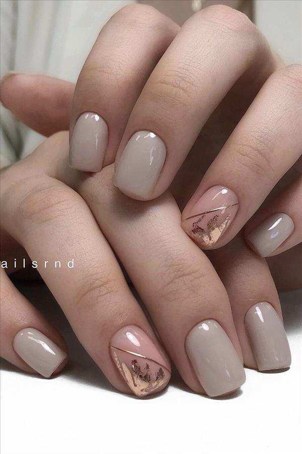 50 Hottest Natural And Lovely Short Square Nails For Spring Nails 2020 Fashion Girl S Blog In 2020 Short Gel Nails Pink Gel Nails Oval Acrylic Nails
