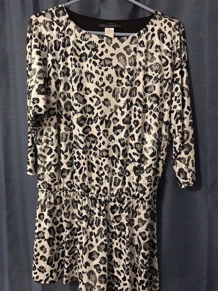 Leopard Print Shiny Top #fashion #clothing #shoes