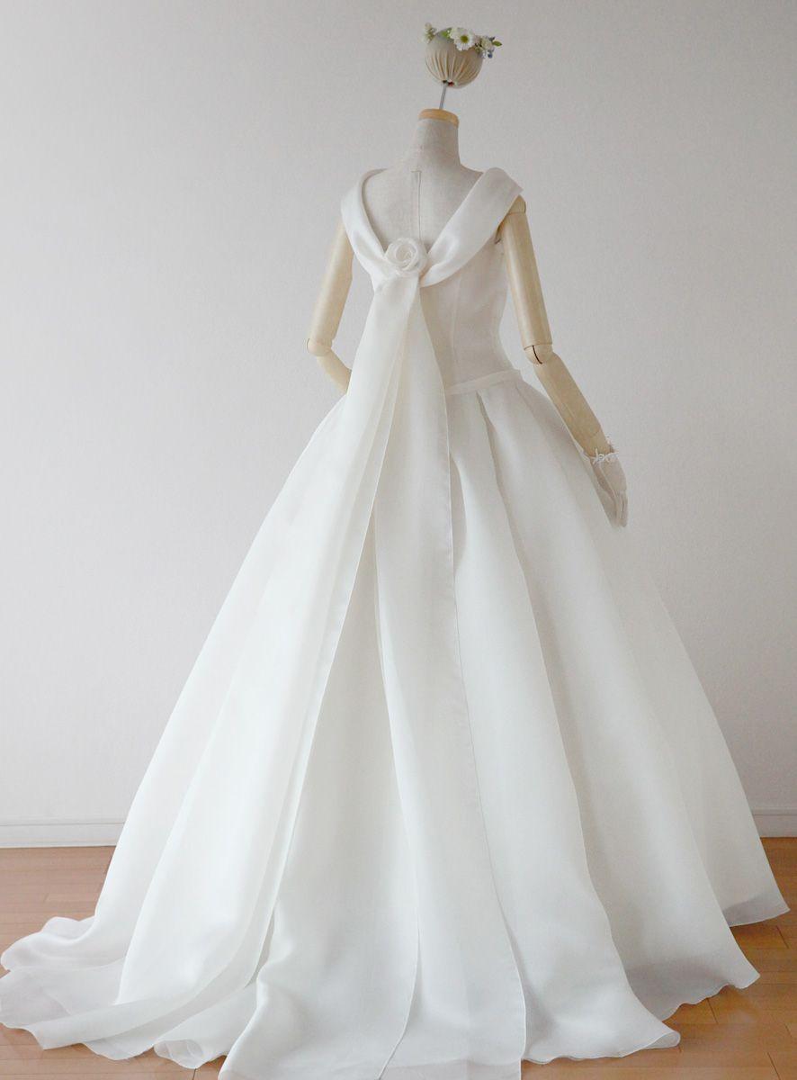 ローブ ドゥ マリエ セツコ アオキ Dresses 肩ありドレス K007