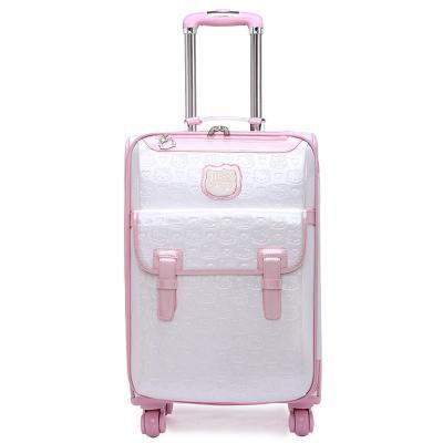 88142dad0 Fashion luggage female small fresh 16 20 suitcase universal wheels trolley  luggage travel 24 soft box,vintage hello kitty luggag
