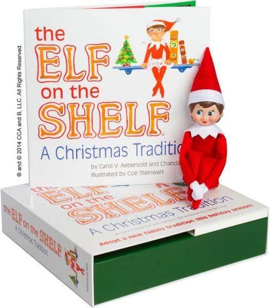 Elf on the Shelf Giveaway