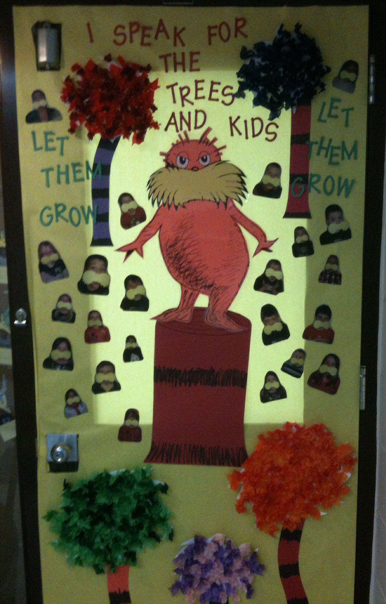 Dr. Seuss door decoration   School   Pinterest   Doors ...