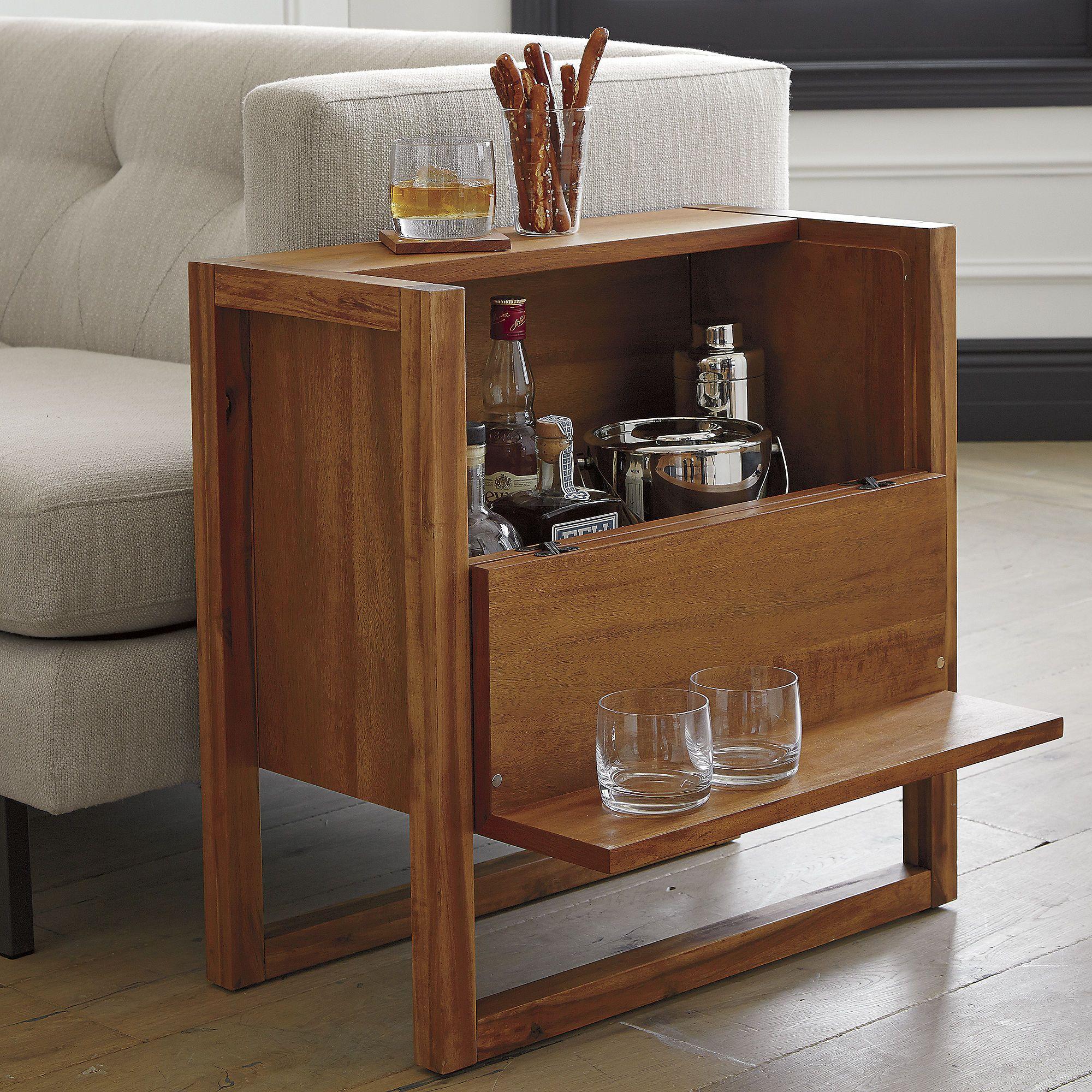 Elixir Mini Bar Cb2 Moderne Hausbar Modernes Esszimmer Minibar