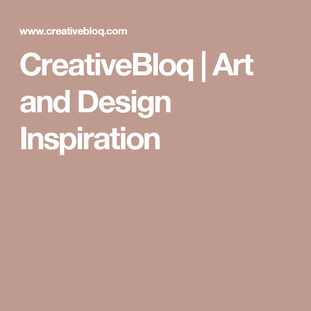 creativebloq art and design