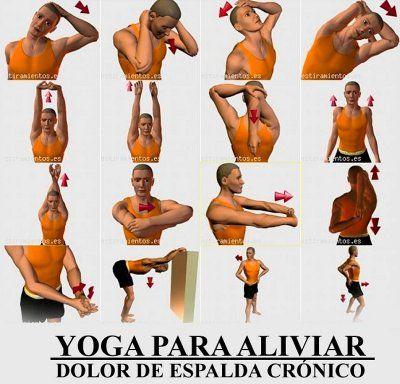 Ejercicios Para Fortalecer La Espalda Mariavillalbaquiromasaje Ejercicios Ejercicios De Yoga Ejercicios Para Dolor De Espalda