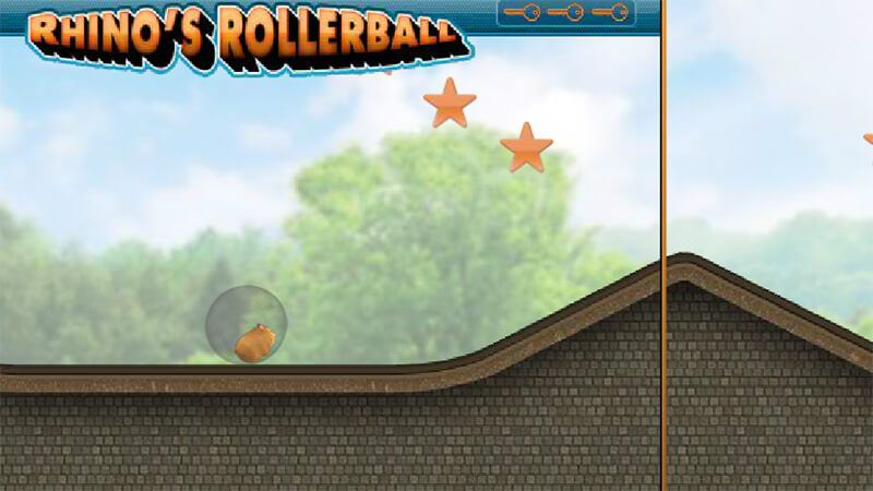 Hamster Roller Ball is an addictive animal game. In this