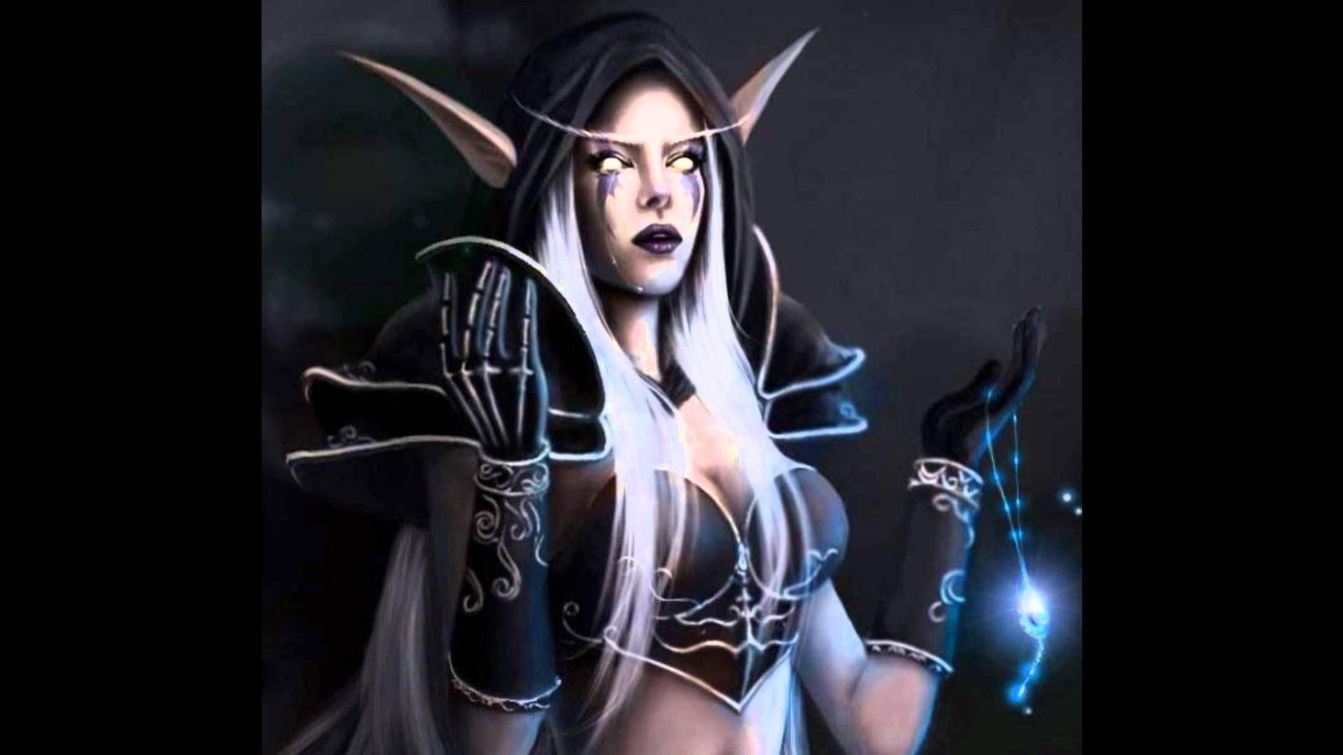 World of Warcraft Sylvanas Windrunner's Song - Lament Of The Highborne