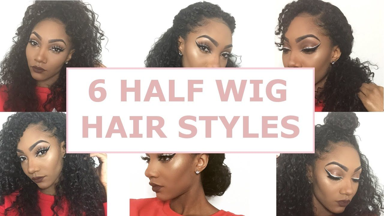 6 EASY HALF WIG HAIR STYLES   Outre Synthetic Half Wig
