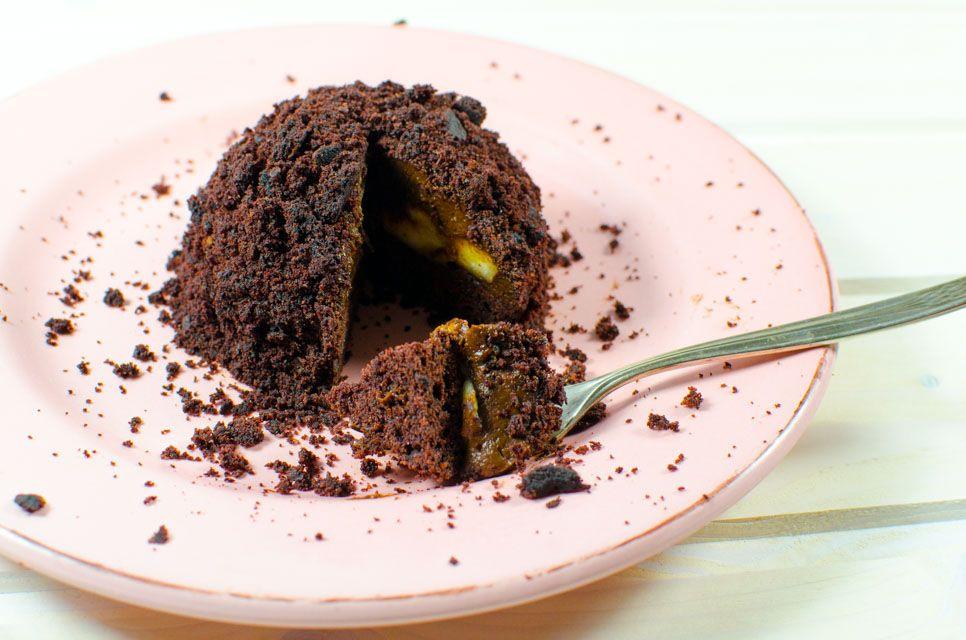 Veganer Maulwurfskuchen #veganermaulwurfkuchen