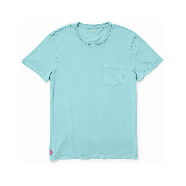 polo ralph lauren t shirt classic fit cotton pocket t shirt